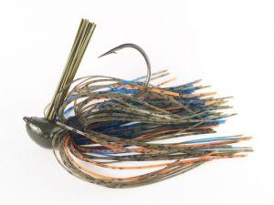 pesca de bass con jig flipping